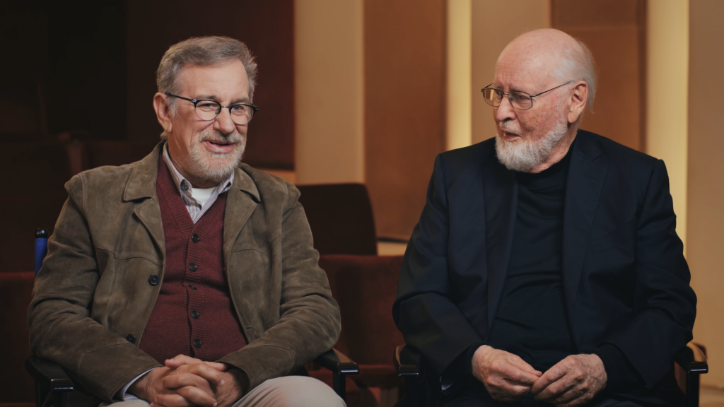 Steven Spielberg and John Williams Being Interview